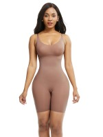 Skin Color Large Size Full Body Shaper Solid Color High-Compression