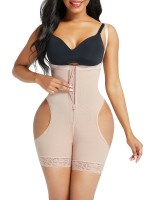 Nude Open Butt Tummy Control Shapewear Shorts Curve-Creating