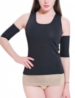 Waist Black Tank Plus Neoprene Shaper Racerback Slim Fit