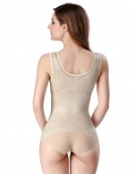 Superfit Everyday Nude Ultra Thin Seamless Vest Shaper Underbust Wide Strap Magicwear
