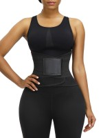 Weight Loss 5 Steel Bone Adjustable Sweat Belt Waist Trainer