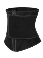 Graceful Black Neoprene Lose Weight Waist Trainer 10 Steel Bones