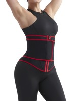 Compression Red Abdomen Control Fitness Neoprene Waist Trainer