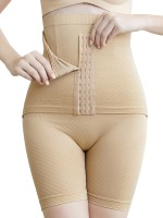 Nude Seamless Waist Shaper Shorts Hook-and-Eye Closure Wholesale