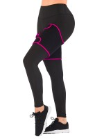 Tight Rose Red Neoprene 2 Pcs Thigh Trimmers Adjust Wrap Slimmer