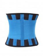 Adjustable Compression Blue Plus Size Gym Weight Loss Waist Shaper Belt