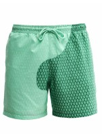 Tropical Quick Dry Beach Shorts Heat Reactive High Elasticity