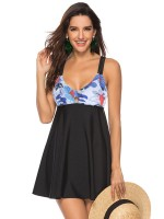 Popularity Plus Size Backless Tankini Strap Online Fashion