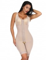 Nude Hooks Crotchless Big Size Full Body Shaper For Weight Loss