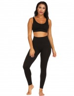 Abdominal Control Black Big Size Seamless Shaping Pants High Waist