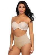 Sheer Nude High Waist Seamless Butt Enhancer Warm Abdomen Body Sculpting