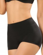 Perfect Black Mesh Lining Booty Enhance Panty Low Waist Best Selling