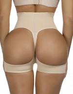 Ultrathin Nude Large Size Butt Enhancer Panty High Rise Slim Shape