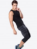 Compression Silhouette Mens Shaper Pants Quick Drying Slim