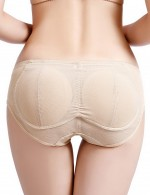 Glam Nude Big Size Lace Booty Lifters Padding High Power