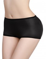 Remarkable Results Black Padded Big Size Invisible Booty Enhancer Fashion