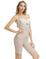 Fabulous Nude Large Size Butt Enhance Boostband Hourglass Bodysuit Plastic Bone