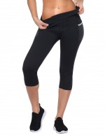 Big Size Black Reflective Neoprene Legging High Waist Midsection Compression