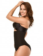 Everyday Shaping Plus Black Double Layer Waist Cincher Breathable