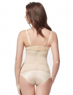Ultra-Thin Nude Big Waist Slimmer 3 Hook Rows Weight Loss