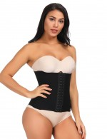 Impeccable Black Queen Size Waist Cincher 16 Steel Bones Figure Slimmer