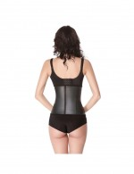Affordable Black 4 Bones Latex Corset Waist Trainer Magicwear