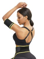Perfect-Fit Yellow Adjustable Sticker Neoprene Arm Shaper Body Trimmer