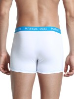 Bold White Men Boxer Brief Contrast Color Ultra Cheap