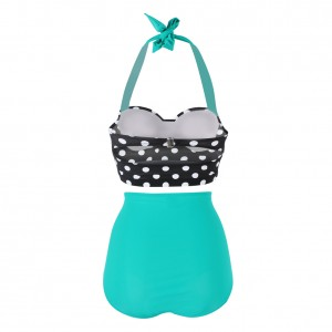 Comfortable High Waisted Swimsuits Underwired Cups