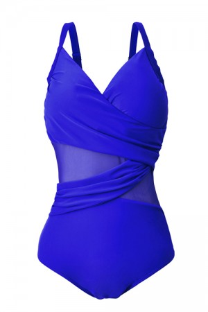 Attractive Adjustable Straps Plus Size Bathing Suits