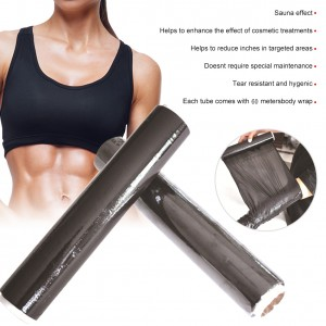 Women's Slimming Plastic Wrap Lose Weight Burning Fat Wrap for Belly Stomach Wrap