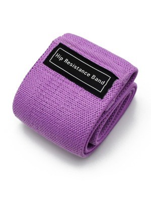 Light Control Purple Contrast Color Hip Resistance Band Shaping Comfort