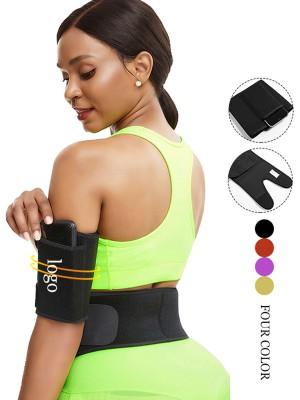 Lgiht Green Neoprene Arm Slimmer Adjustable Sticker Instantly Slims