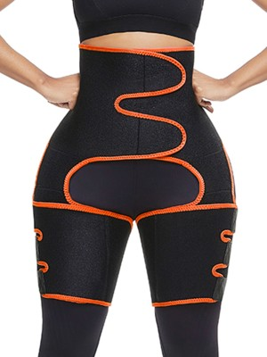 Firm Foundations Orange Sticker High Waist Neoprene Thigh Trainer