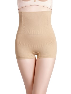 Contour Apricot High Waist Padded Panties Seamless Instant Slimmer