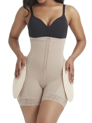 Complexion Detachable Pads Tummy Control Shorts Shapewear