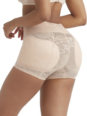Well-Suited Skin Color High Waist Panty Shaper Jacquard Weave