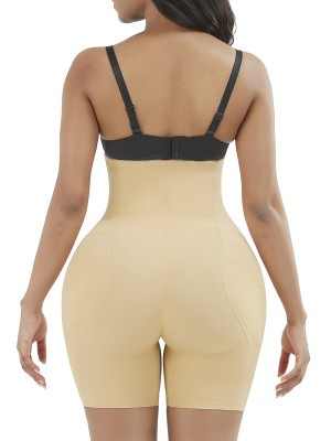 Dark Skin Butt Enhancer Single Hooks Underbust Tummy Control