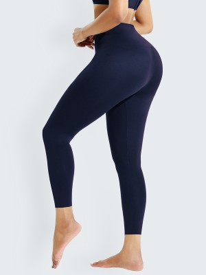 Tibetan Green Front Hook High Waist Shapewear Leggings Good Elastic