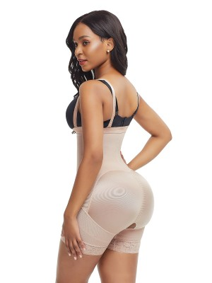 Charming Skin Zipper Plus Size Detachable Straps Body Shaper Superfit