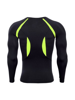Super Green Raglan Sleeve Long Sleeve Sports Top Quality Assured