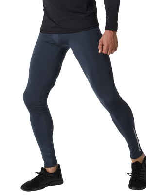 Compression Gray High Waist Leggings Pocket Full Length Fabulous Fit