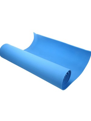 Solid Color Yoga Mat High Density For Fitness