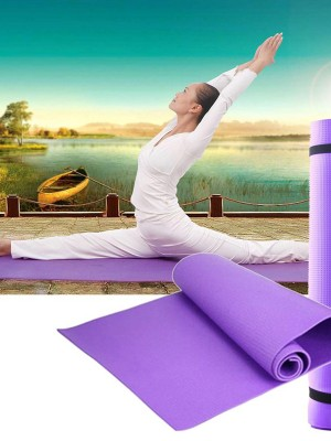Non-Slip Yoga Mat With Carrying Strap For Women
