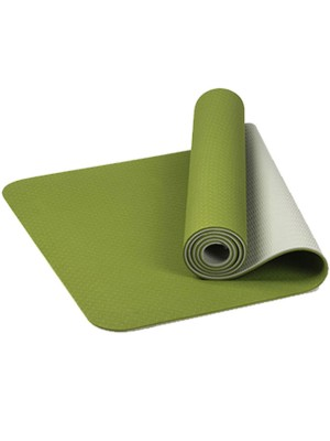 TPE Yoga Mat Reticular Fiber Tasteless For Training