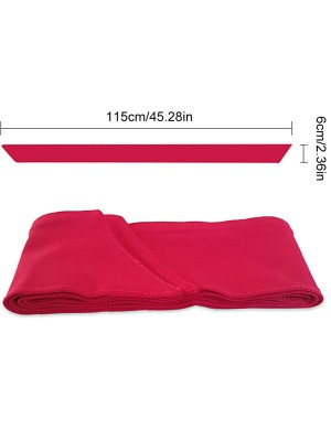 Chic Red Fast Drying Fabric Athletic Headband