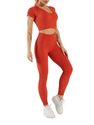 Crop Seamless Yoga Top High Waist Leggings Wholesale Online