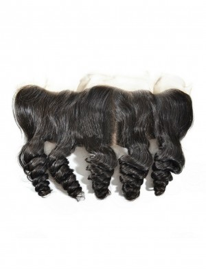 13x4 Brazilian Human Hair Loose Wave Lace Frontal Free Part