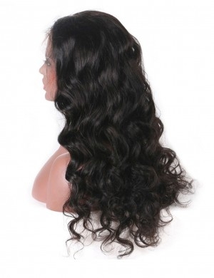 360 Lace Frontal Closure Virgin Loose Wave Hair 1 Piece