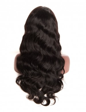 360 Lace Pre-Plucked Baby Human Virgin Hair Full End Body Wave